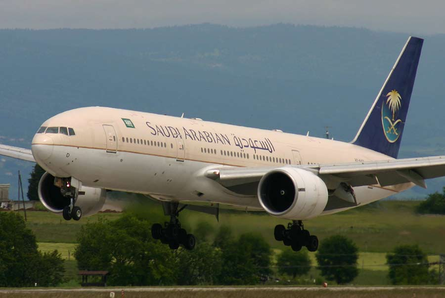 Download this Saudi Airlines picture