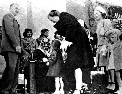 1947 Aramco Brats Visit King Ibn Saud