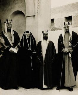 old saudi family 1930s