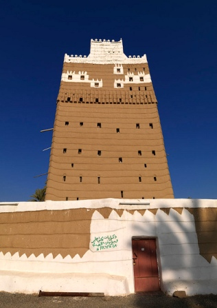 Old saudi najran house