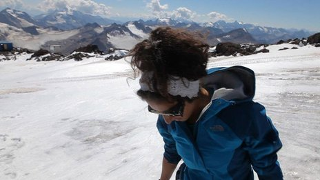 saudi woman everest