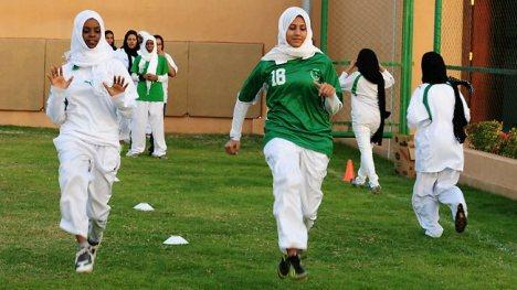 saudi woman sport