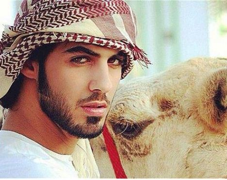 handsome Arab man